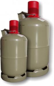 Propangas Eigentumsflaschen 5 kg und 11 kg