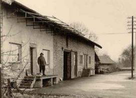 Historie - Das Firmengebäude im Jahr 1956
