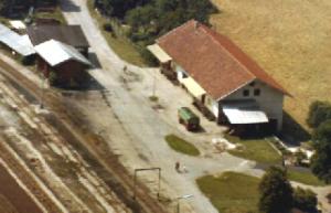 Das Betriebsgelände im Jahr 1975