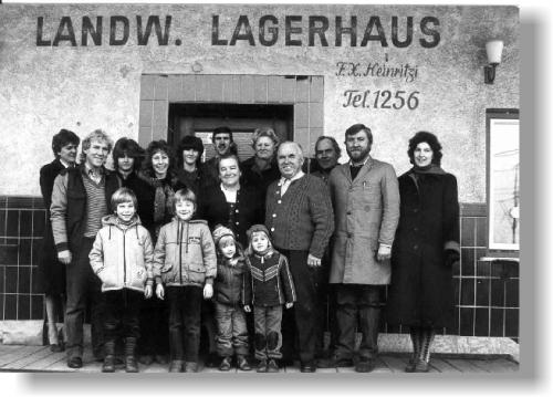 Die Belegschaft von 1984