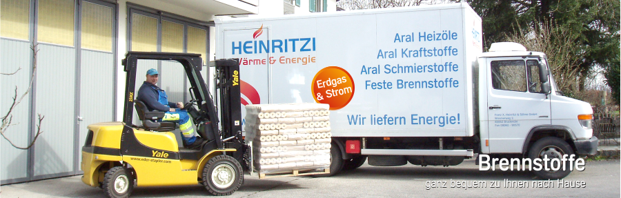 Holzbriketts und Pellets - Lieferservice