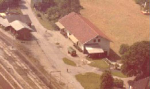 Luftaufnahme von 1970