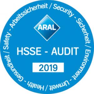 HSSE 2019 Plakette