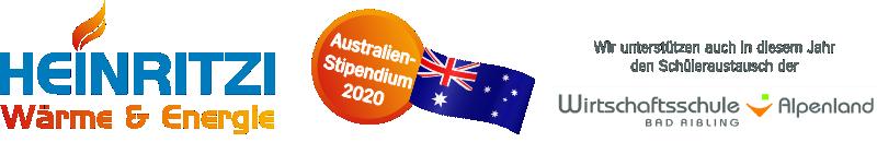 2020 Australien-Stipendium by HEINRITZI Wärme & Energie