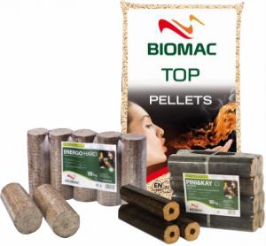 Festbrennstoffe - Biomac Holzbrennstoffe bei HEINRITZI Wärme & Energie