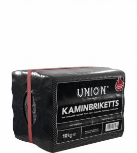 Union 7-Zoll Kaminbrikett 10 kg