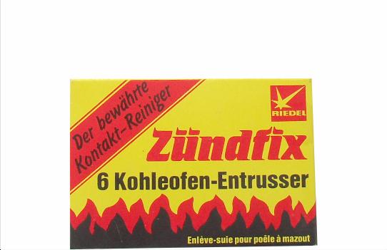 Zündfix Kohleofen-Entrusser