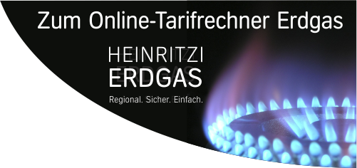 Erdgasrechner bei HEINRITZI Wärme & Energie