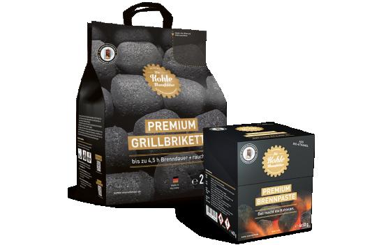 Premium Grillbriketts bei HEINRITZI Wärme & Energie