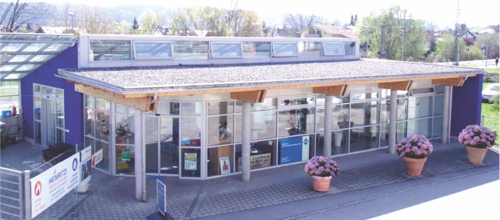 HEINRITZI Wärme & Energie - direkt am Bruckmühler Bahnhof