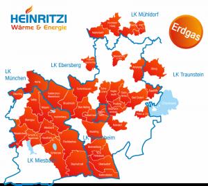 2021 Liefergebiet Erdgas