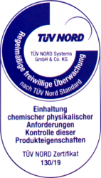 Aral HeizölEcoPlus - TÜV Nord Zertifikat