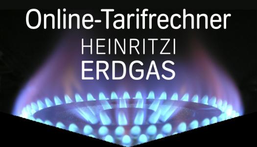 HEINRITZI Erdgas - Unser Online-Tarifrechner