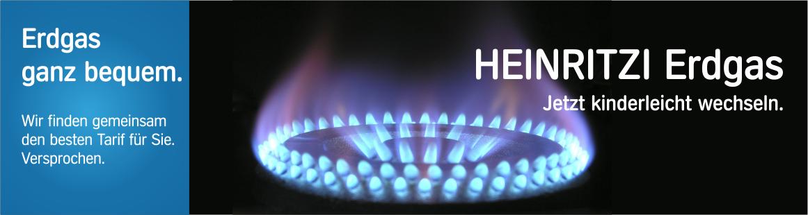 HEINRITZI Erdgas - kinderleicht und bequem wechseln