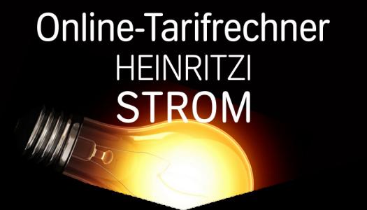 HEINRITZI Strom - Unser Online-Tarifrechner